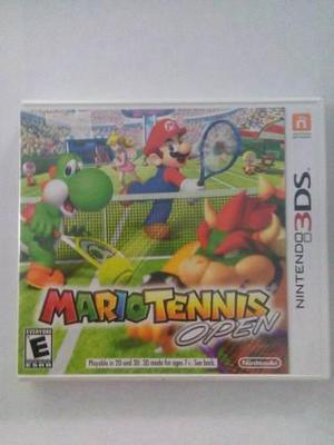 Mario Tennis Open 3ds Nuevo Sellado Nintendo Envio Gratis
