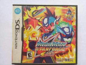 Megaman Starforce Leo Nintendo Ds Nds Trqs Mega Man Star