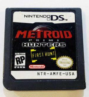 Metroid Prime Hunters Nintendo Ds Nds Cartucho Retromex Tcvg