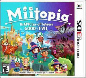 Miitopia Nintendo 3ds Nuevo Y Sellado
