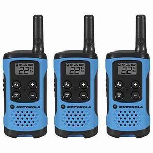 Motorola T100tp Talkabout Paquete De 3 Radios