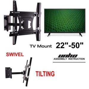Movimiento Tilt Lcd Led Tv Soporte De Pared 42 43 44 4-1336