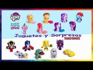 My Little Pony Transformers Mcdonals Mc Donals Oferta