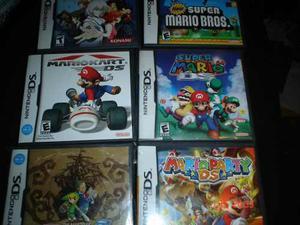 Nintendo Ds Paquete 6 Juegos Mario Zelda Castlevania Nds