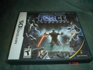 Nintendo Ds Star Wars The Force Unleashed Nds