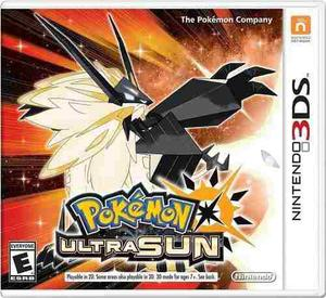 Nuevo Videojuego Pokémon Ultra Sun - Nintendo 3ds