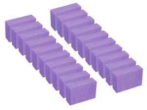 Pack 20 Pzas Bloque Ladrillo Yoga De Goma Eva (23x15x7 Cm)