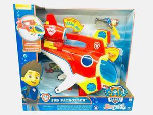 Paw Patrol Sub Patroller Sonidos Submarino Spin Master