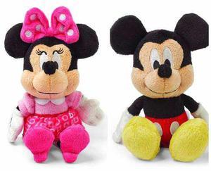 Peluche Mickey O Minnie Mouse 1 Figura De 15 Cms Original