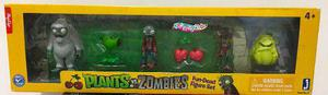 Plantas Vs Zombies Set De 6 Figuras Pop Cap Envío Gratis