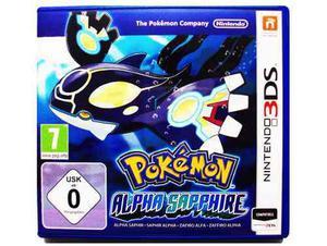 Pokemon Alpha Sapphire Europeo - Nintendo 2ds & 3ds