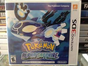 Pokemon Alpha Sapphire Nuevo Cellado 3ds