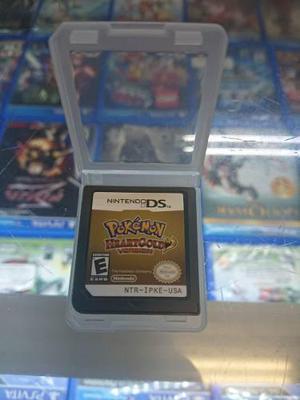 Pokemon Heart Gold Versión Nintendo Ds