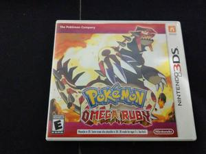 Pokemon Omega Ruby Para Nintendo 3ds