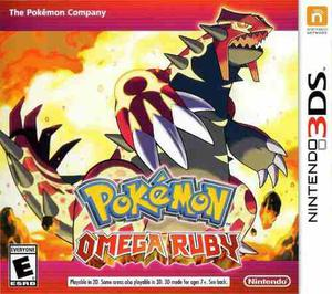 Pokemon Omega Ruby Para Nintendo 3ds Y 2ds
