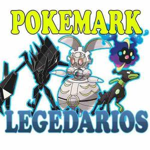Pokemon Sol Sun Luna Moon Paquete Legendarios Entes Y Tapus
