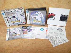 Pokemon Soul Silver Completo Nintendo Ds Nds