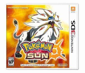 Pokemon Sun Nuevo Envio Gratis