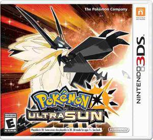 Pokemon Ultra Sun O Ultra Moon - Nintendo 3ds - 2ds -new 3ds