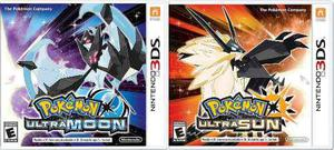 Pokemon Ultra Sun + Pokemon Ultra Moon Para Nintendo 3ds