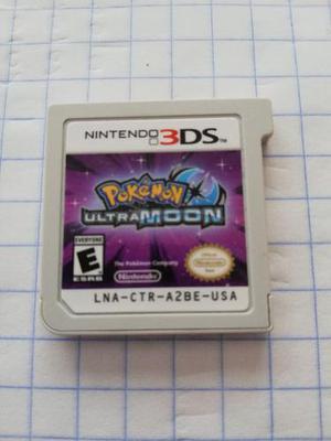 Pokemon Ultramoon Nintendo 3ds Sin Caja