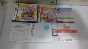 Pokemon White Version 2 Para Nintendo Ds,excelente Titulo
