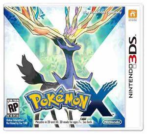Pokemon X Nintendo 3ds New 3ds, 2ds 2dsxl Multiidioma Nuevo