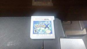 Pokemon X Solo Tarjeta Para Nintendo 3ds