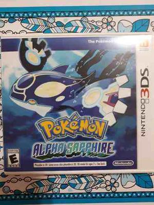 Pokémon Alpha Sapphire Nintendo 3ds, Seminuevo