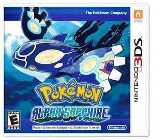 Pokémon Alpha Sapphire - Nintendo 3ds Video Juego Nuevo New