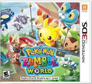 Pokémon Rumble World::.. Para Nintendo 3ds