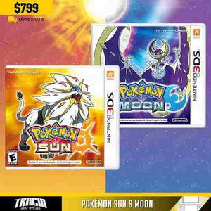 Pokémon Sun Moon] Sol Luna Nuevos New 3ds Xl | Tracia