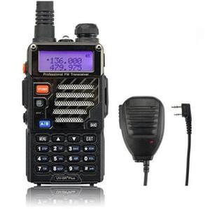 Radio Baofeng Uv-5r + Plus Vhf/uhf + Micro De Solapa