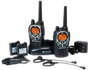 Radios Midland 36 Millas H2o A Prueba De Agua Gxt1000 Vp4