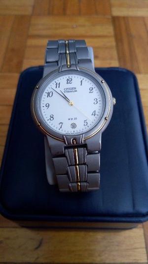 Reloj p/caballero CITIZEN Titanium -h