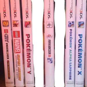Remate De 6 Juegos Para Nintendo 3ds