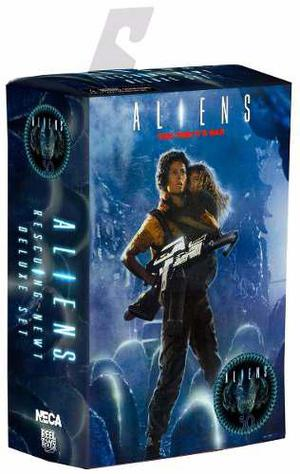 Ripley & Newt Aliens Rescuing Newt Dlx 2 Pack Neca Legacyts