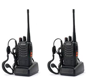 Set 2 Radios Baofeng Bf-888s Walkie Talkie Envio 24 Horas