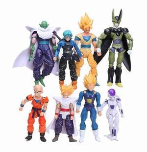 Set 8 Figura De Acción De Dragon Ball Z Goku Envío Gratis