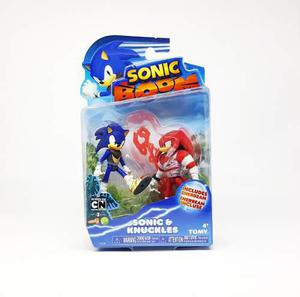 Sonic Boom Sonic Y Knuckles Articulable The Hedgehog Sega