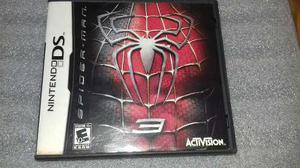 Spider Man 3,nintendo Ds Con Caja E Instructivo,funcionando.