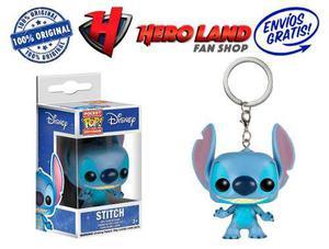 Stitch Llavero Funko Pop Lilo & Stitch Disney Stich Estich