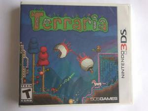 Terraria Para Nintendo 3ds Nuevo Y Sellado