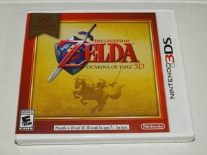 The Legend Of Zelda Ocarina Of Time - Nintendo 3ds - Nuevo