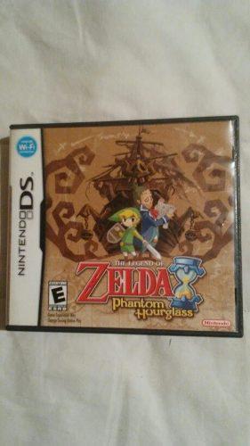 The Legend Of Zelda Phantom Hourglass Nintendo Ds Completo