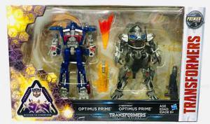 Transformers Optimus Prime Y Cybertron Premier Hasbro