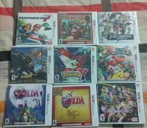 Varios Juegos 3ds Originales Con Manual