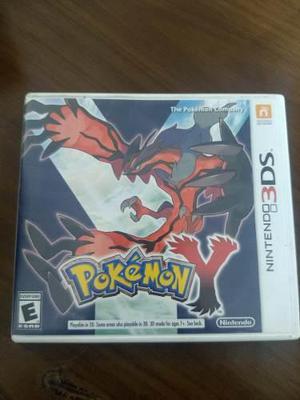 Videojuego Aventura Pokemon Y Nintendo 3ds