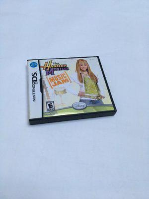 Videojuego Nintendo Ds Hannah Montana Music Jam