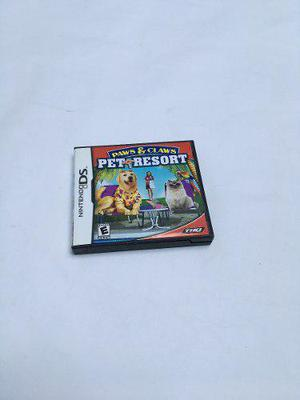 Videojuego Nintendo Ds Paws & Claws Pet Resort